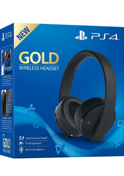 תמונה של Playstation Gold Wireless Headset סוני