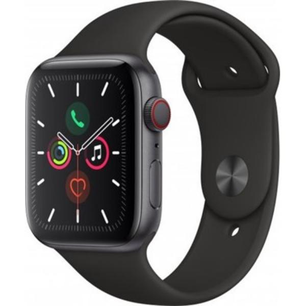 תמונה של שעון חכם Apple Watch Series 5 44mm Aluminum Case Sport band GPS + Cellular אפל